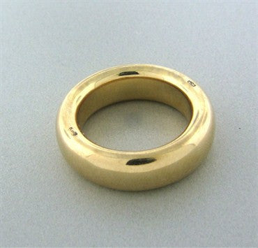 image of Estate Pomellato 18K Yellow Gold Large Band Ring