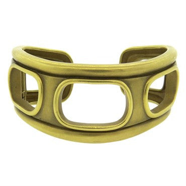 thumbnail image of Barry Kieselstein Cord Gold Cuff Bracelet