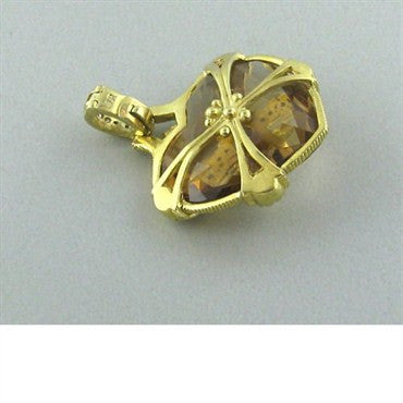 thumbnail image of Judith Ripka Rhapsody Diamond Heart Pendant