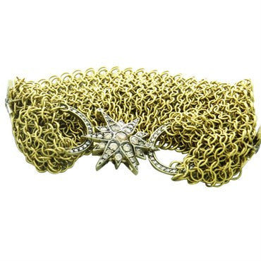 image of H. Stern Stars 18K Gold Diamond Bracelet