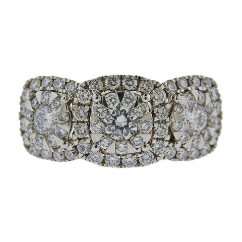 image of Memoire Gold 1.41ctw Diamond Ring