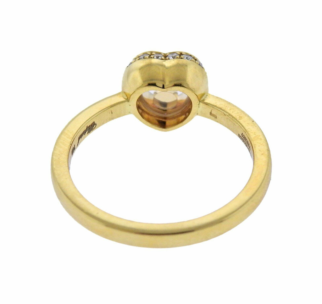 thumbnail image of Chopard Happy Diamonds Heart Gold Ring
