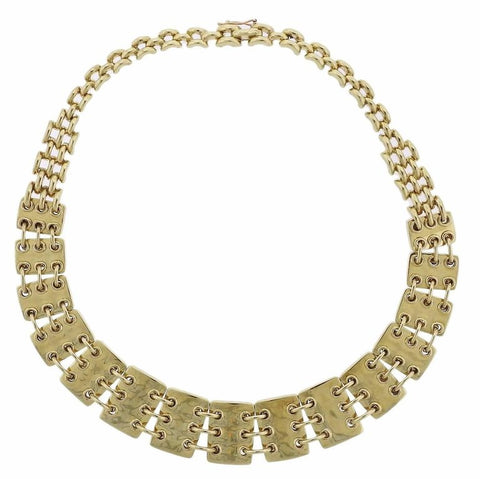 image of Jose Hess Gold Link Necklace
