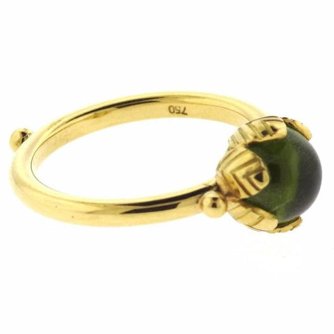 Temple St. Clair Arcadia Peridot Gold Ring