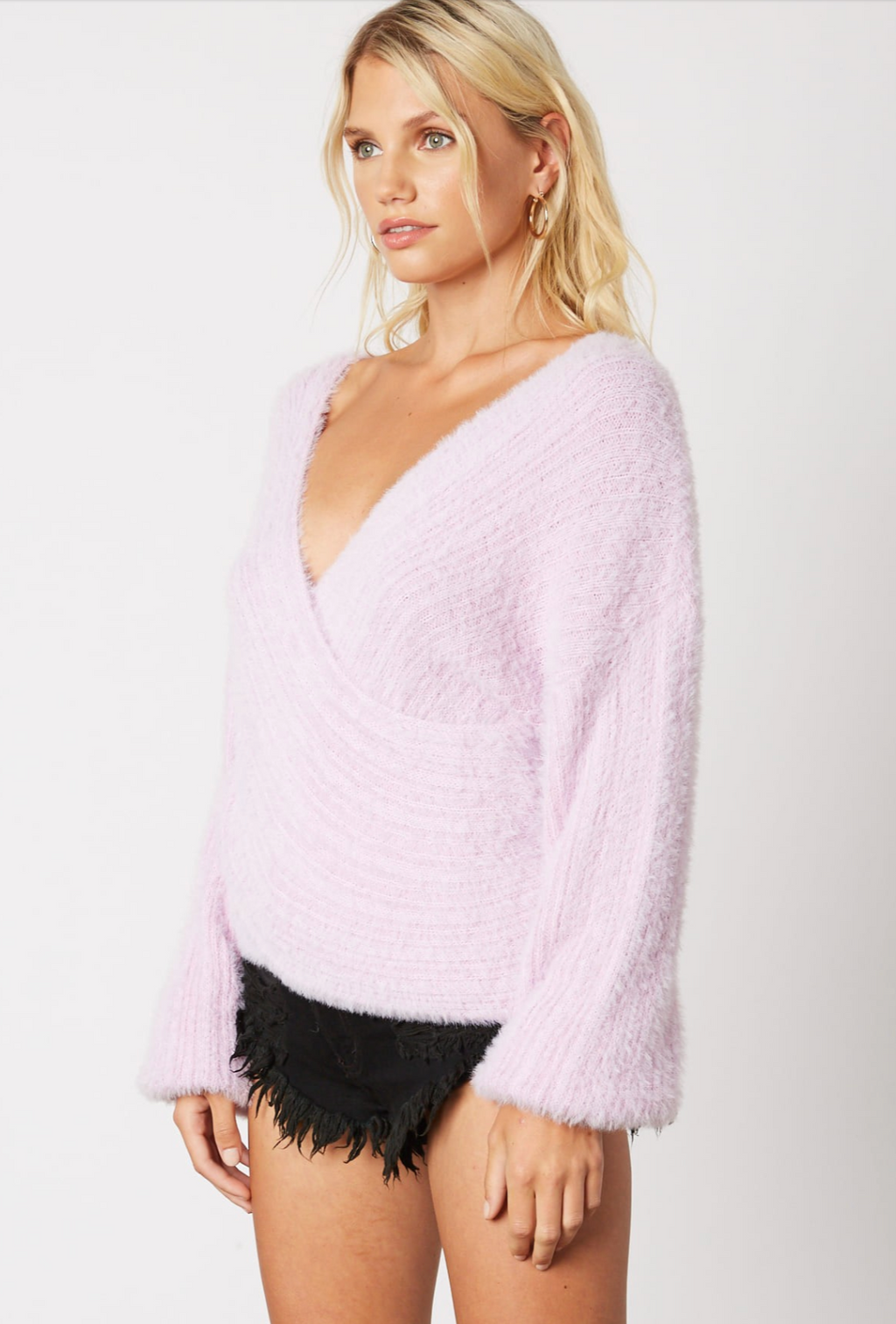 Cross Country Sweater - Lilac