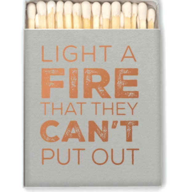 Light A Fire Matches