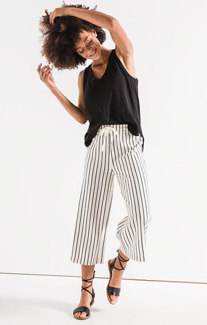 The Pinstripe Culottes