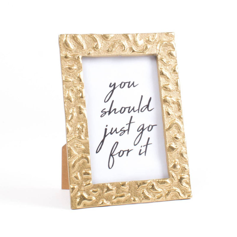Gold Leopard Picture Frame