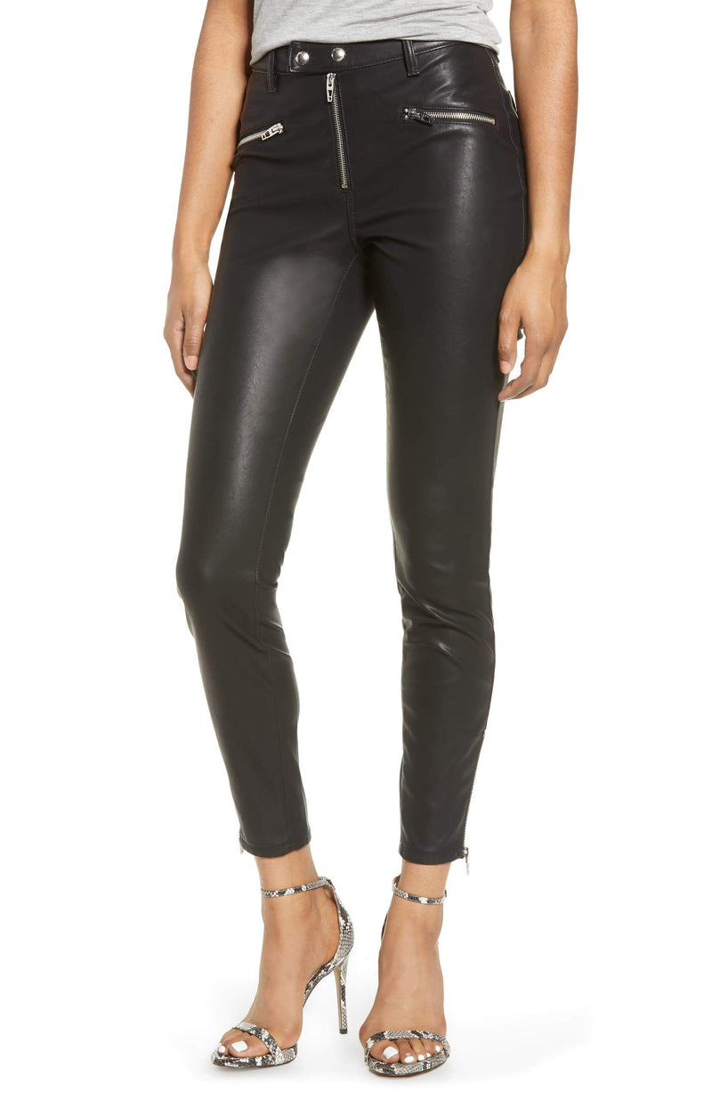 Deja Boo Faux Leather Skinnies