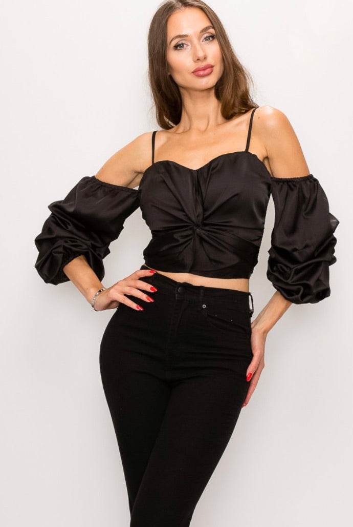Sweetheart Shoulder Crop
