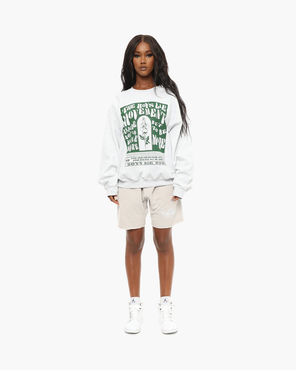 Boys Lie Movement G1 Crewneck