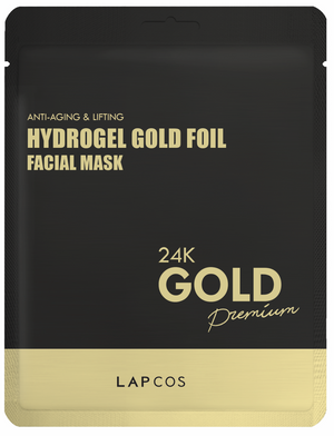 Gold Hydrogel Face Mask