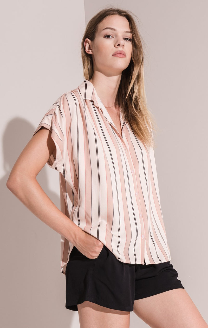 Avila Striped Blouse