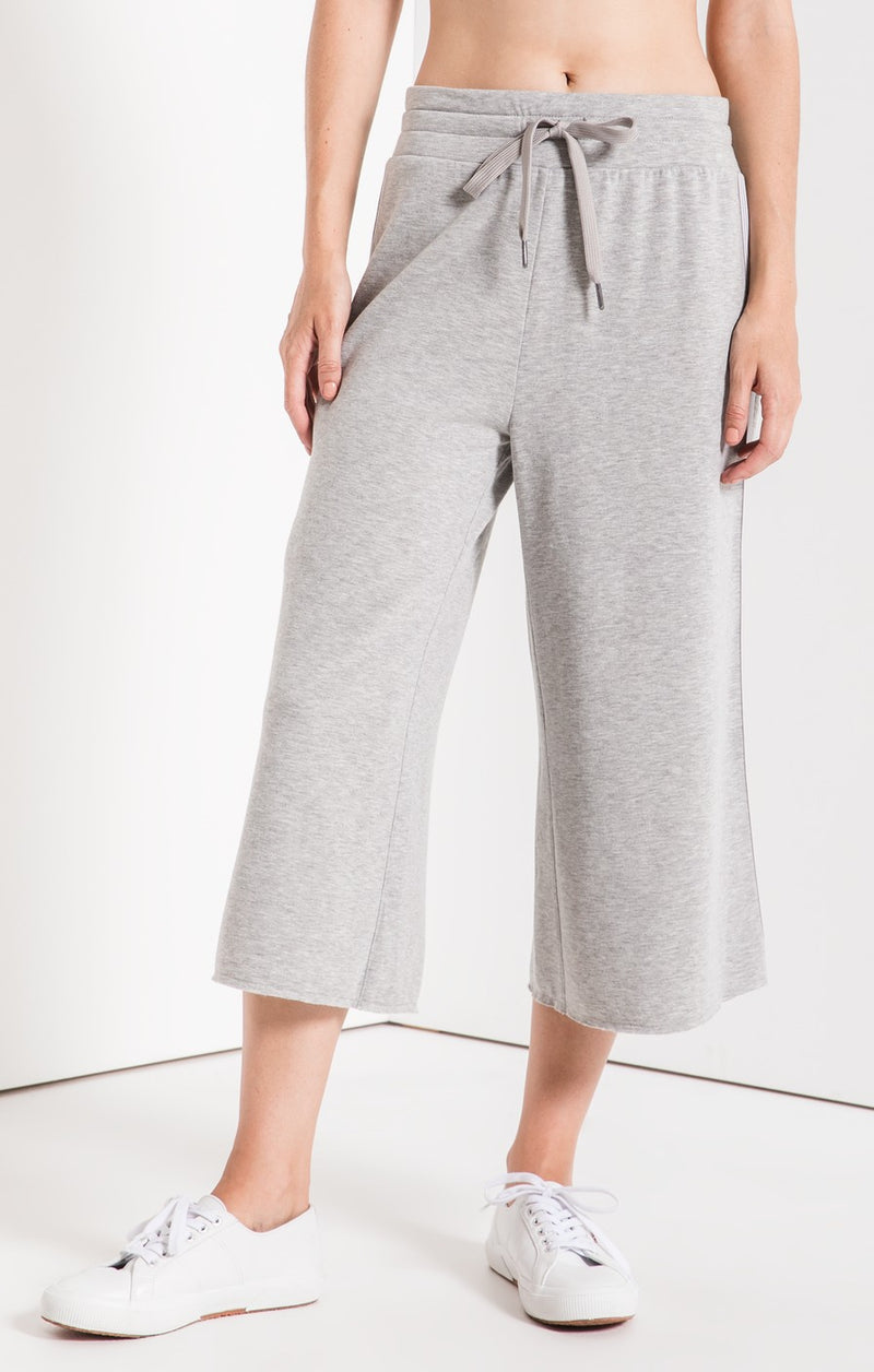 The Feather Fleece Culottes