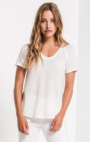 The Breezy Rib Layering Tee