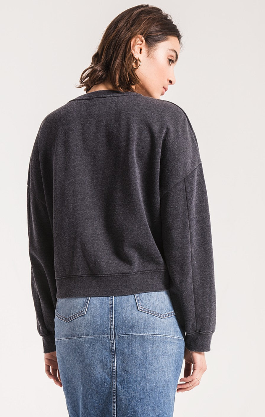 The Oversized Fleece Pullover