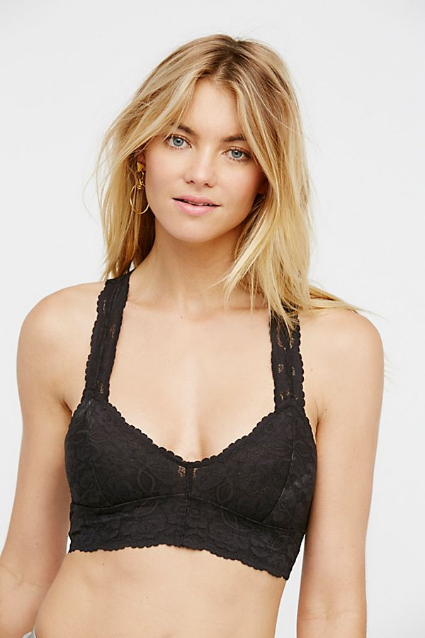 Galloon Lace Racerback Bralette