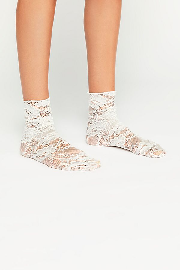 Bella Lace Crew Sock