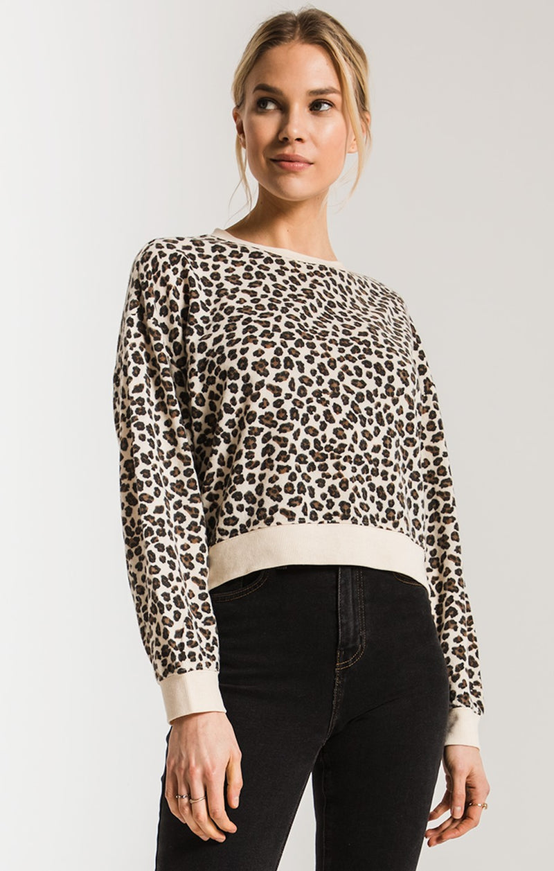 The Leopard Pullover