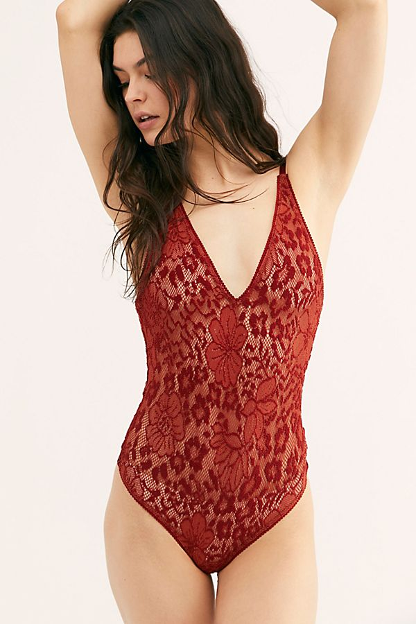 Live It Up Lace Bodysuit