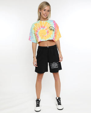 *COMING SOON* Boys Lie Within Us Cropped Tie Dye Tee