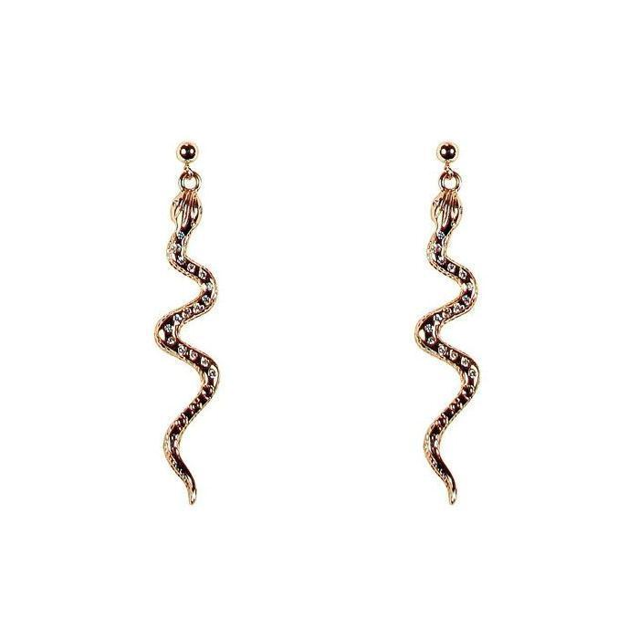 Cobra Earrings