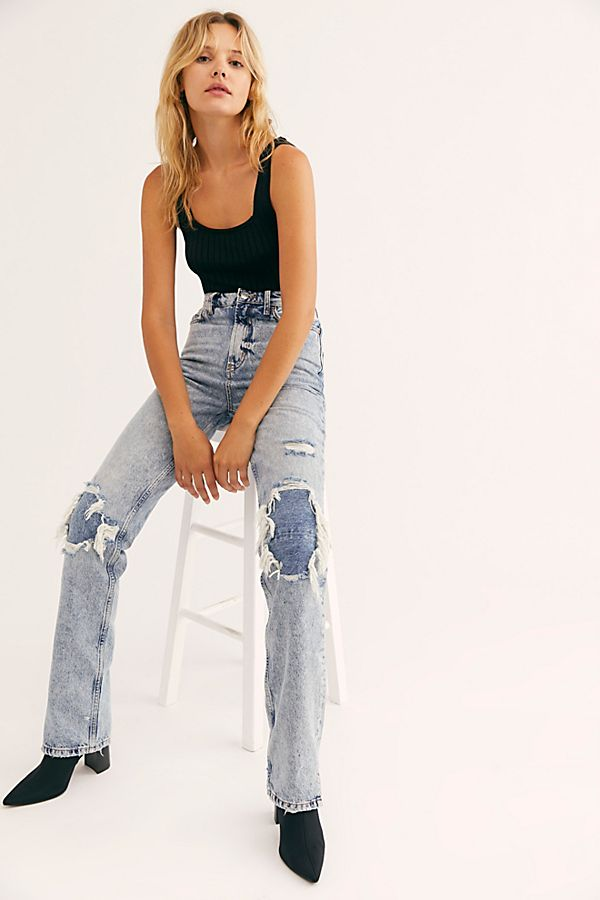 Free People My Own Lane Jean