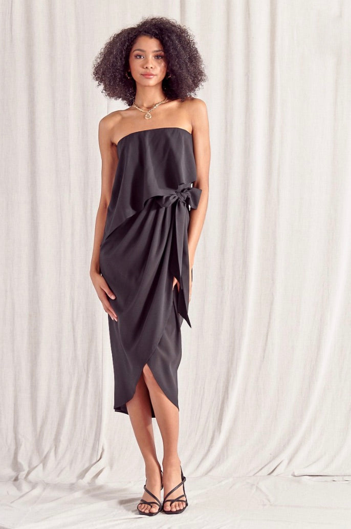 Laguna Tube Dress - Black