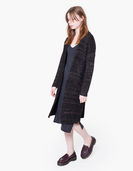 Boucle Loose Knit Cardigan