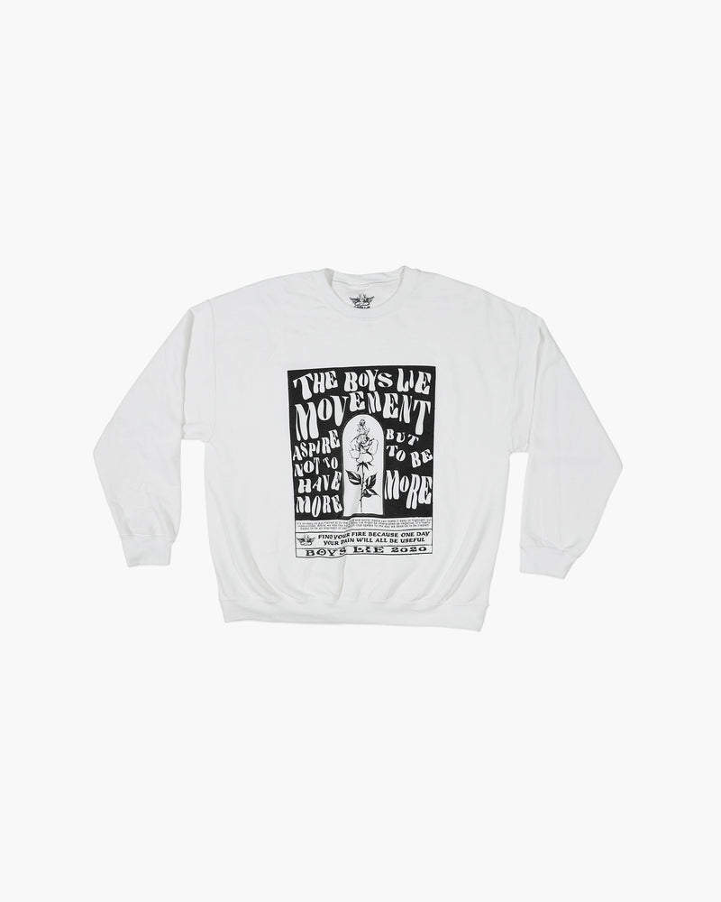 Boys Lie Movement W1 Crewneck