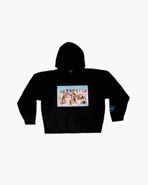 Boys Lie Heaven Sighs Hoodie - Blue