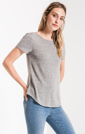 The Triblend Twist Back Tee