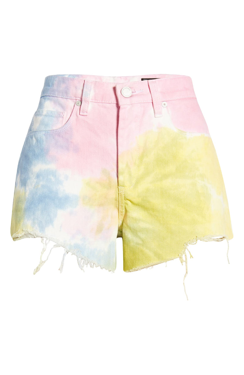 Wonder Wheel High Waist Denim Shorts