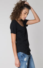 The Modal Pocket Tee by Z Supply - Black - BIRD BEE - 2