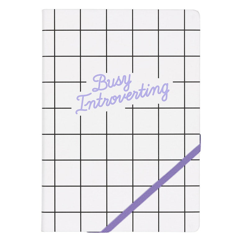Busy Introverting Notebook