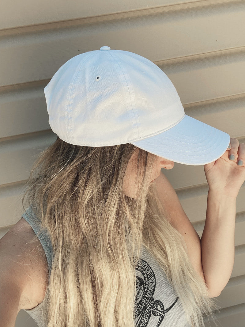 Beach House Cap - White
