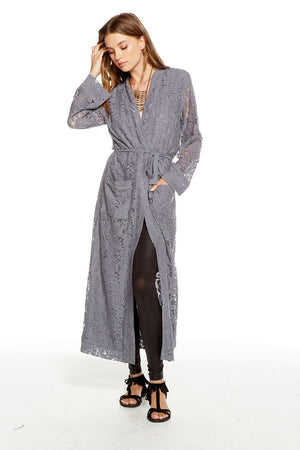 Vintage Lace Duster Robe