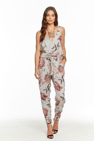 Heirloom Wovens Dbl V Tank Waist Jumpsuit