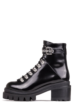 Czech Lace Up Boot