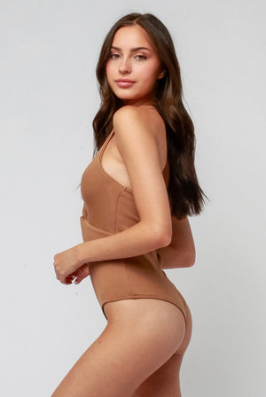 Twist Halter Bodysuit