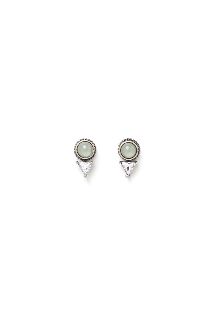 Dial Post Earrings