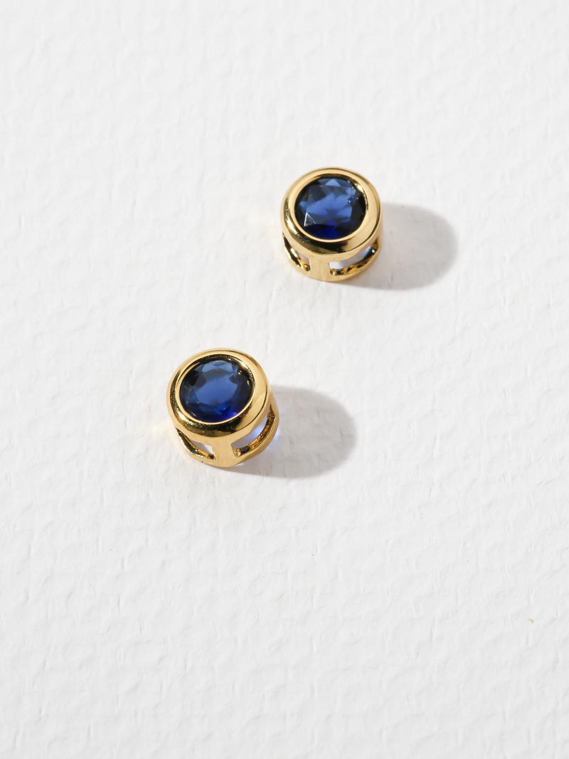 The Bardot Navy Earrings