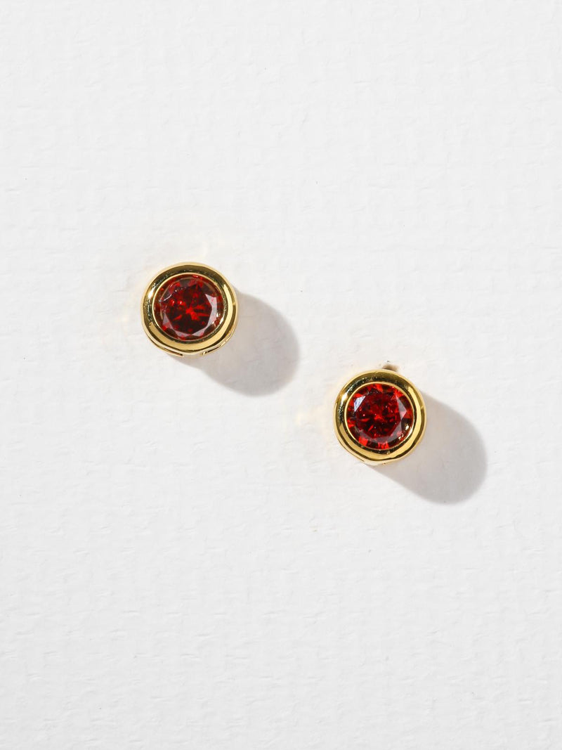 The Bardot Ruby Earrings