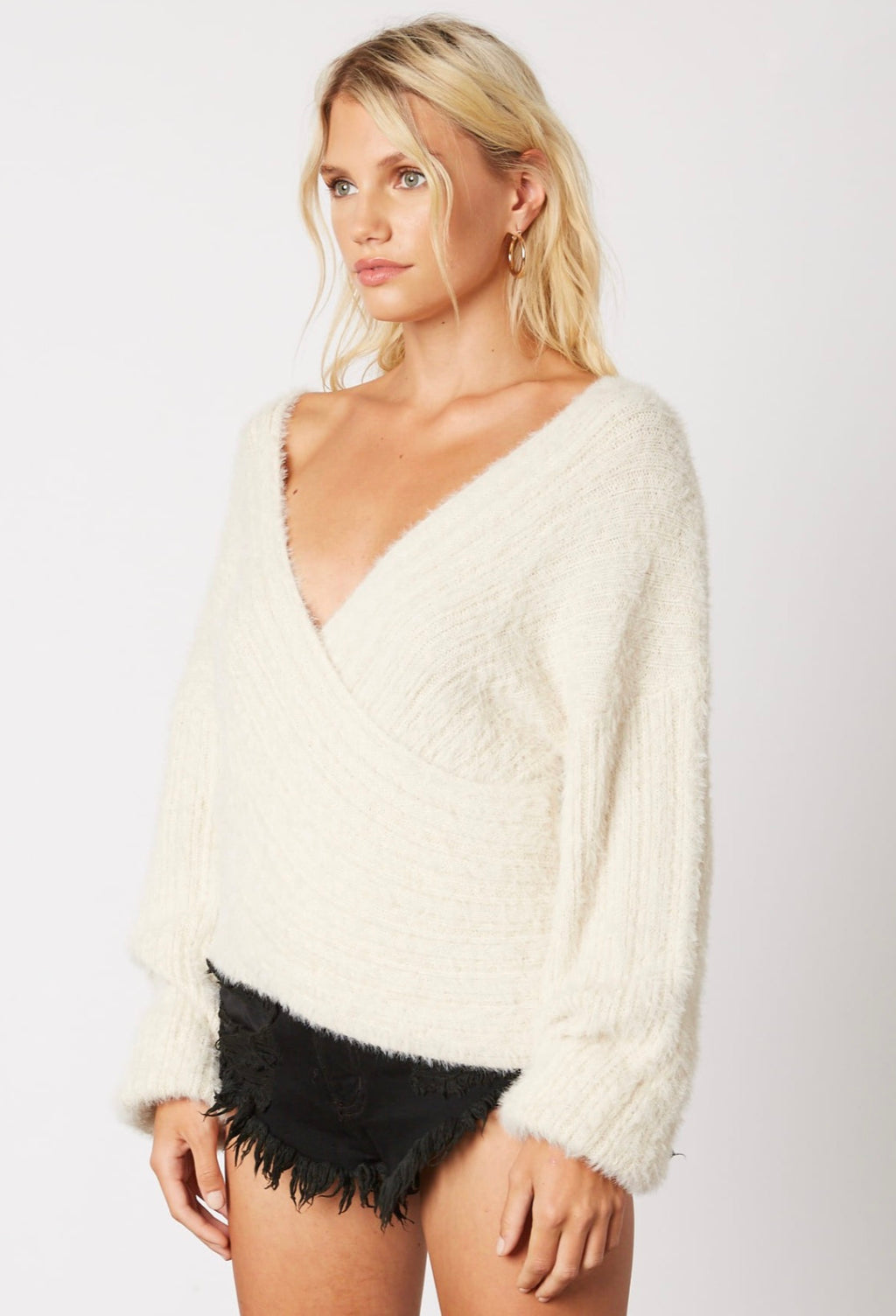 Cross Country Sweater - Ivory