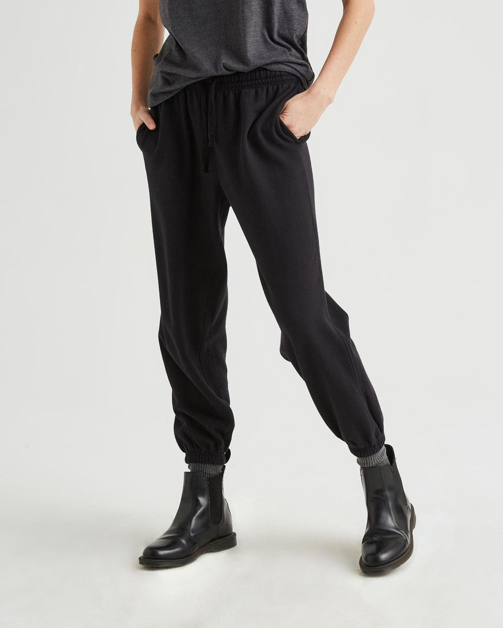 Fleece Jogger Sweats - Black