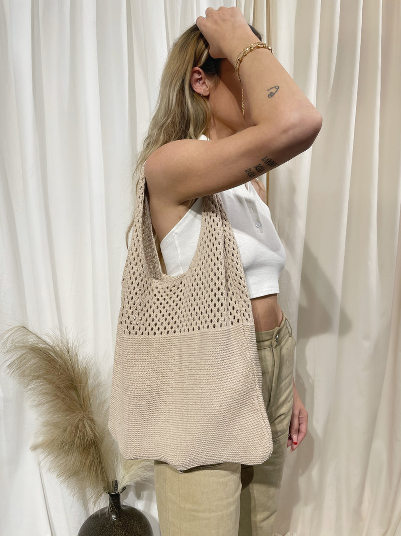 Market Days Tote - Sand