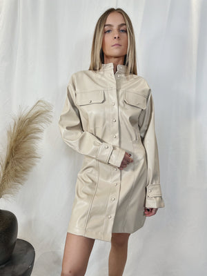 Stand Guard Leather Dress
