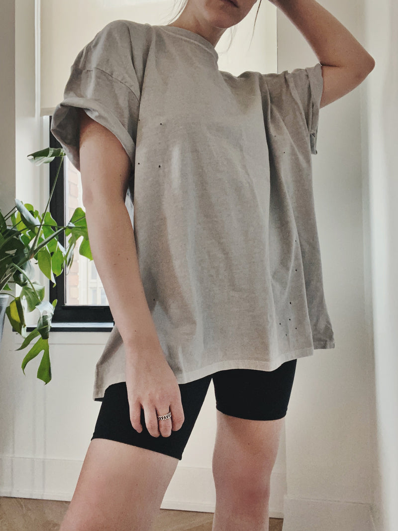 Alley Oversized Tee - Cloud