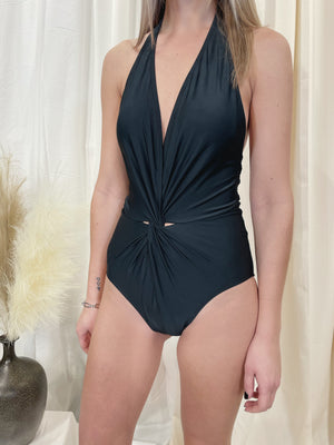 West Bay One Piece Swim Suit - Black