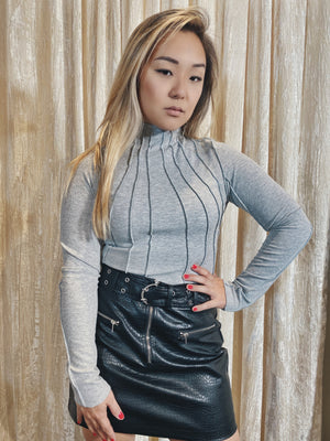 Lost & Found Top - Grey